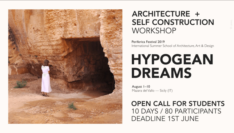 Call for Students: Hypogean Dreams Workshop [Architecture + SelfConstruction], Evocava Museum - entrance to the underground quarry - photo ©Lorenza Sassone