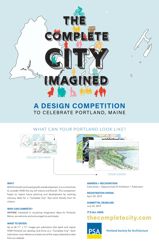 The Complete City: Imagined - A Design Competition to Celebrate Portland, Maine