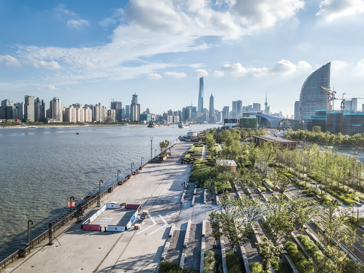 Yangpu Riverfront South Section Phase II / DA Landscape, © Xiaohui Jin
