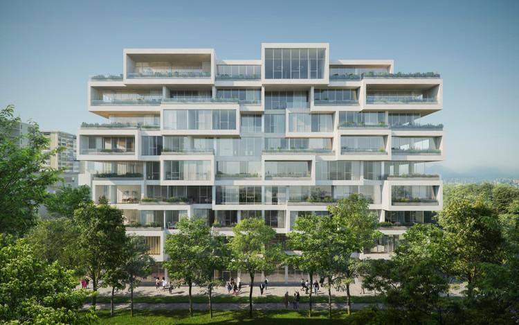 Stefano Boeri Architetti Designs New Offset Housing in Albania, Courtesy of The Big Picture
