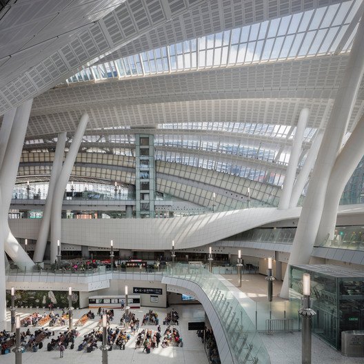 Hong Kong West Kowloon Station High-Speed Rail Terminus by Andrew Bromberg - Aedas