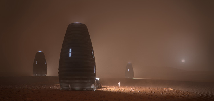 AI SpaceFactory Wins NASA's 3D-Printed Mars Habitat Challenge, © AI SpaceFactory and Plomp