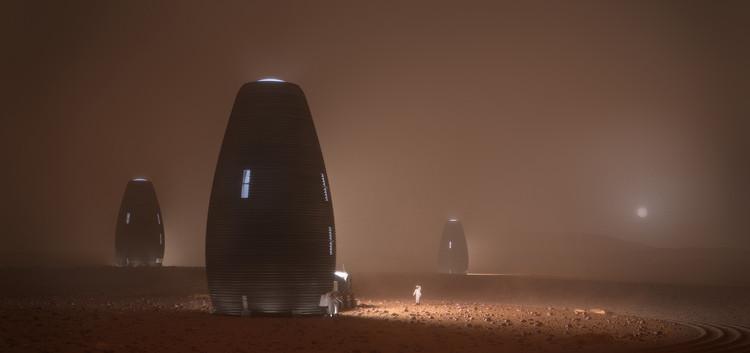 AI SpaceFactory gana el desafío de la NASA para poder habitar Marte , © AI SpaceFactory and Plomp