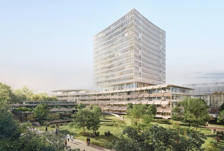 Herzog & de Meuron revela diseño para el Hospital Universitario de Basilea, © Herzog & de Meuron