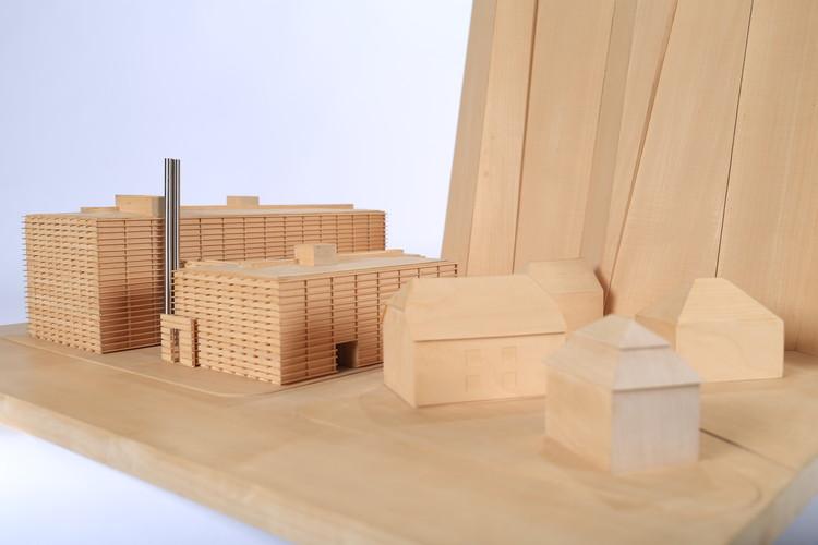 Casa da Arquitectura recebe o acervo de Eduardo Souto de Moura, Maquete do projeto Salzburg Hotel. Image Cortesia de Casa da Arquitectura