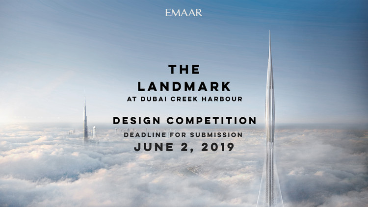 The Landmark At Dubai Creek Harbour, The Landmark Open Design competition
