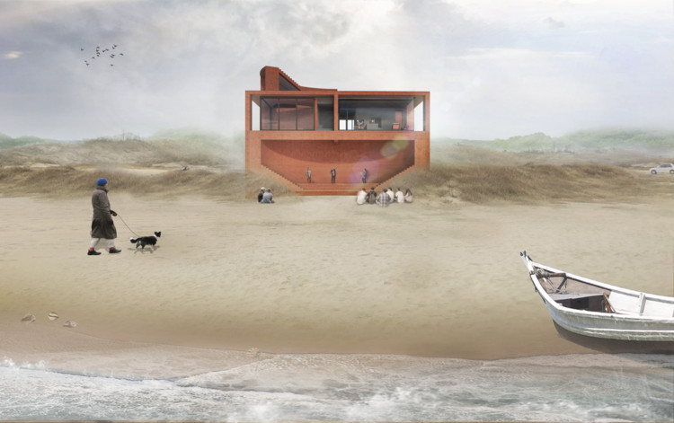 DnA Designs a Music Studio by the Sea in Qinhuangdao, China, © DnA