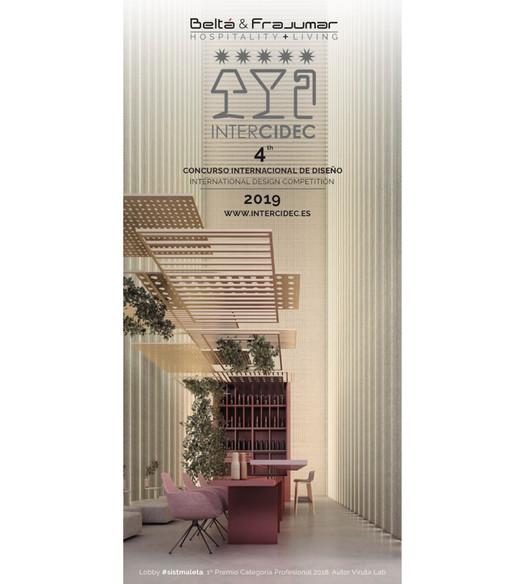 InterCIDEC'19: Concurso Internacional de Diseño de Entornos Contract, Beltá & Frajumar