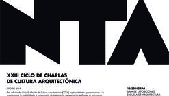 XXIII Ciclo de Charlas de Cultura Arquitectónica [CCCA]