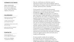 Convocatoria ARQ Compendium