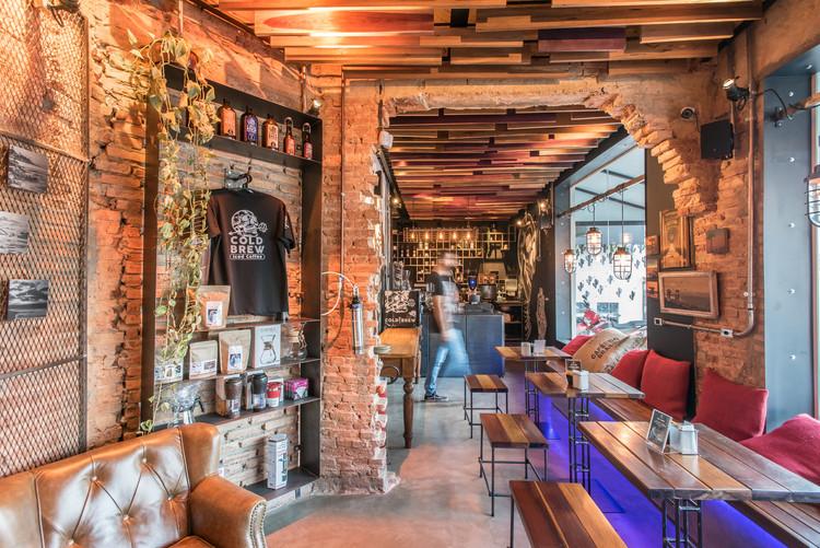 Cafeteria Art in Coffee / Gustavo Fontes + Coletivo de Arquitetos, © Filippe Araujo