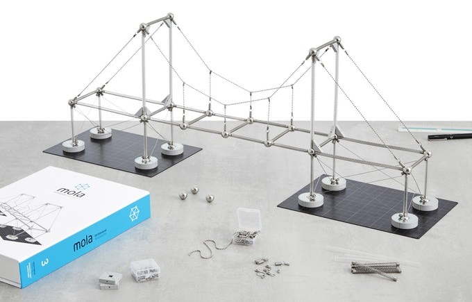 Mola Structural Kit 3 Launches on Kickstarter, Mola Structural Kit 3. Image Courtesy of Mola Model