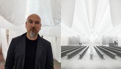 Josep Ferrando diseña con geotextil y catenarias un pabellón sin residuos en BBConstrumat '19