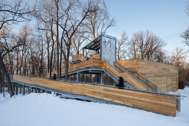 Manitoboggan Slide / Public City Architecture, © Stationpoint Photographic