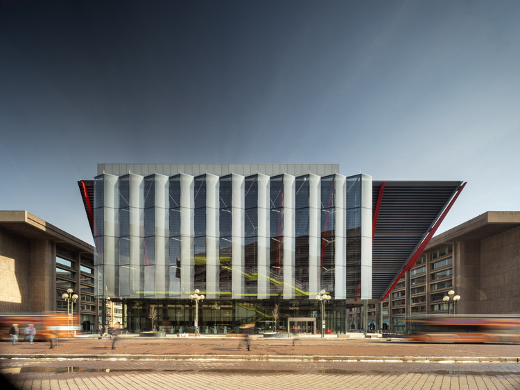 International Spy Museum / Rogers Stirk Harbour + Partners, © Nic Lehoux
