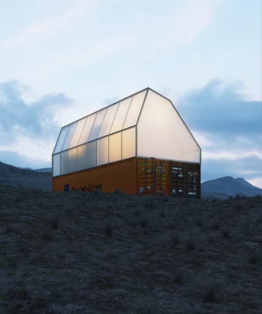 TRS Studio convierte un contenedor de carga en una vivienda social  , © TRS Studio