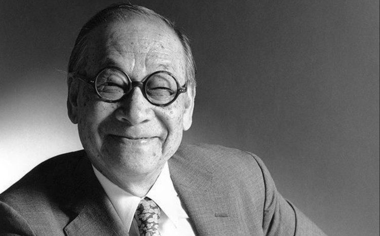 I. M. Pei fallece a los 102 años, RIBA via <a href='https://www.telegraph.co.uk/culture/art/architecture/7206598/Lifetime-achievement-award-for-architect-I.-M.-Pei.html?image=9'>The Telegraph</a>