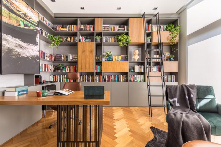 Biblioteca Bookàbar / Greisse Panazzolo Arquitetura, © Marcelo Donadussi