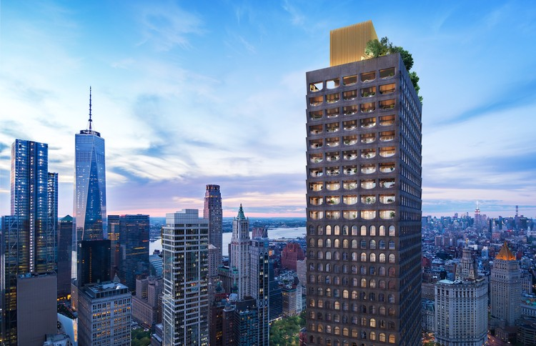 Adjaye Associates' First US Residential Skyscraper Tops Out in New York City
