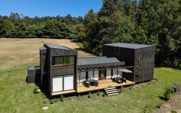 Casa Domo Panguipulli / Domo Habitare, © Benjamin Camus