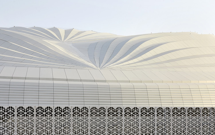 Al Janoub Stadium / Zaha Hadid Architects, © Hufton + Crow