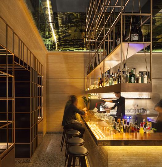 Hotel das Triest, Porto Bar / BEHF Architects