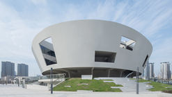 China Light and Textile City Fashion Show Center / WAU Design