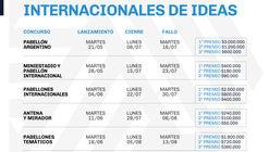 Seis concursos internacionales de ideas para Expo 2023 Buenos Aires