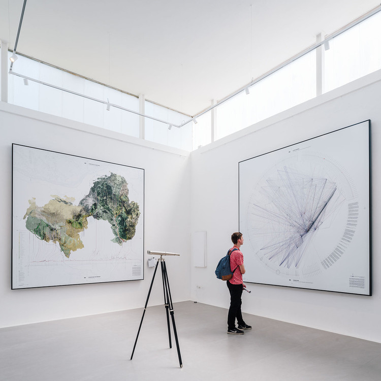 Da modernidade aos muros de ar: três pavilhões do Brasil na Bienal de Veneza, Muros de Ar. Veneza, 2018. Image © Imagen Subliminal