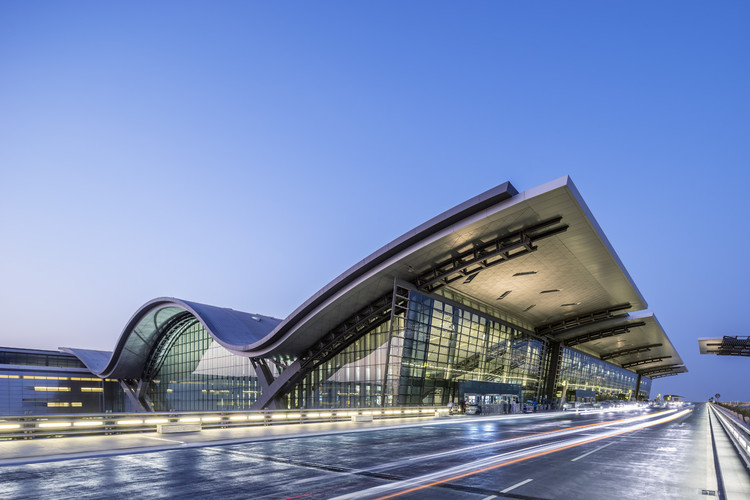 Hamad International Airport Passenger Terminal Complex / HOK, © Tim Griffith | HOK