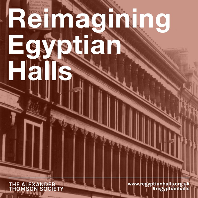 Reimagining Egyptian Halls, Competition Poster