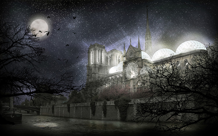 4 Visions for Notre-Dame Cathedral, © Valentino Gareri