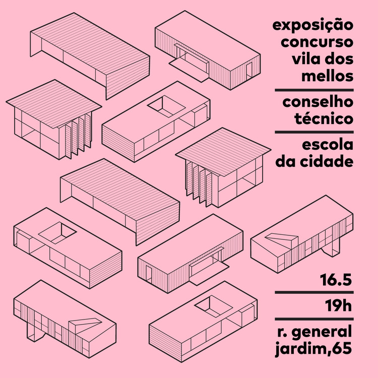 """Exposição - Projetos do concurso """"Vila dos Mellos"""""""