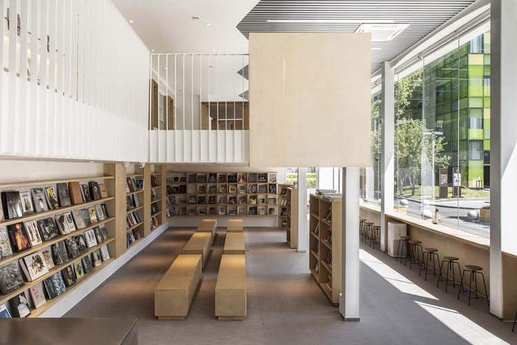 Chunfengxixi Reading Club / FON STUDIO, full view. Image Courtesy of Fon Studio