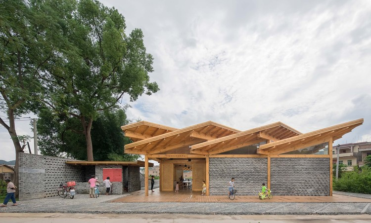 Centro Comunitário de Fa Chang / CCDI Dongxiying Studio, © Chao Zhang