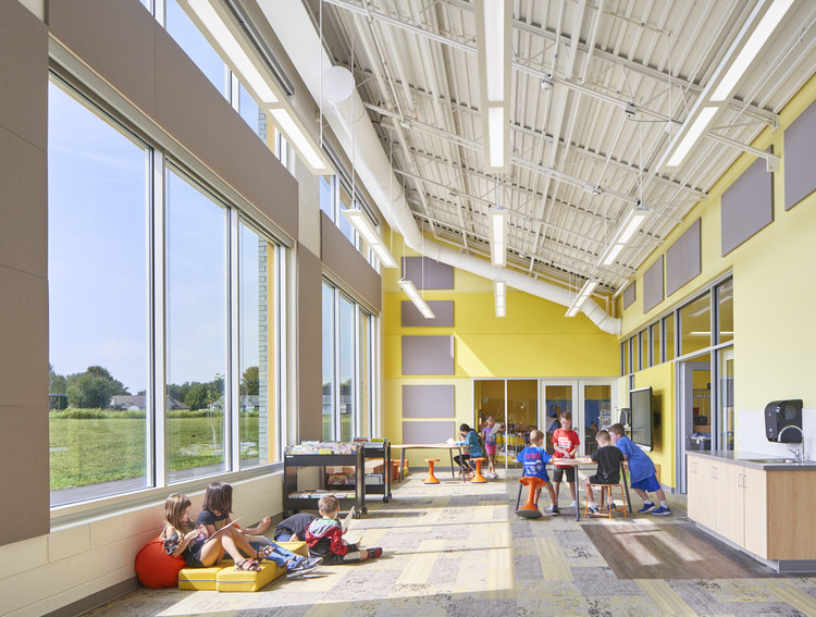 Rockford Public School / CannonDesign	, © Robert Benson