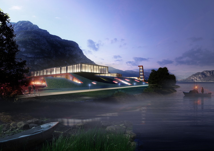 3GATTI Reimagines the Modern Fire Station Along the Lake of Lecco in Italy, Courtesy of 3GATTI