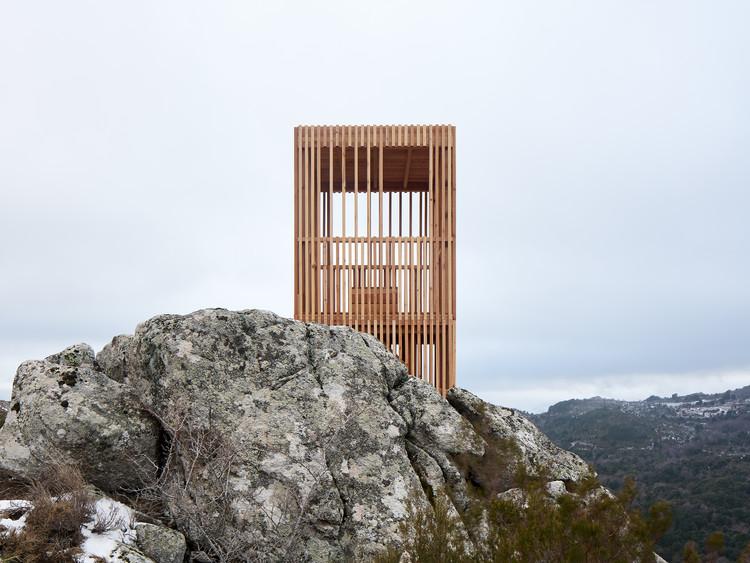 Observatorios del ciervo corso / Orma Architettura, © David Giancatarina and Julien Kerdraon