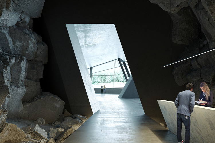 Ad Hoc Architecture Designs Hotel Inside a Cave for Rural Russia, Vels Hotel. Image Courtesy of Ad Hoc Architecture