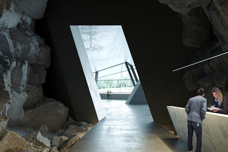 Ad Hoc Architecture projeta hotel dentro de caverna na região rural da Rússia, Hotel Vels. Imagem Cortesia de Ad Hoc Architecture