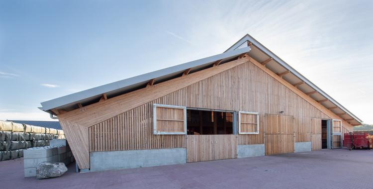 Sheepfold Bargerveen Barn / DAAD Architects, © Walter Frisart