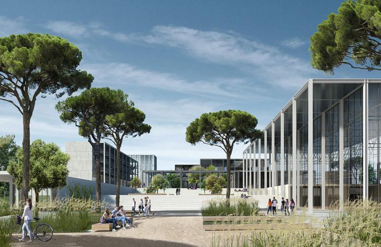 Topotek 1 e Labics projetam campus de biomedicina para a Universidade de Roma, © Campus Bio_Medico SpA