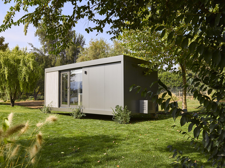 'Tiny houses' projetadas por Mathias Klotz e Felipe Assadi no Chile, Tiny Cabin Mathias Klotz. Image Cortesía de Tecno Fast
