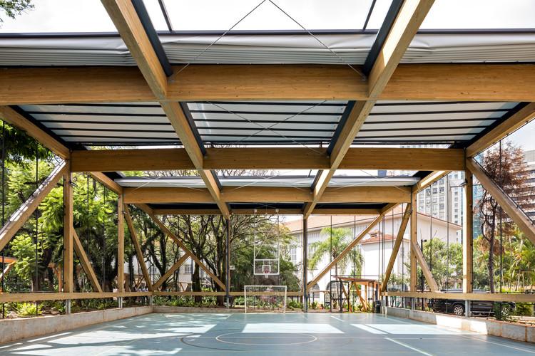 Escola Concept / Triptyque Architecture, © Fran Parente