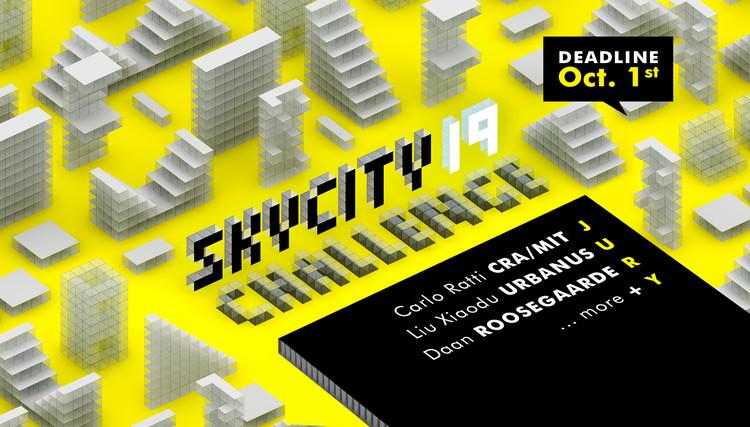 Concurso SkyCity Challenge 19: O futuro da habitação, SkyCity Challenge 19 - banner oficial