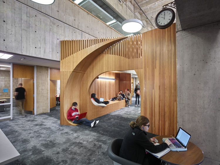 Carnegie Mellon University Sorrells Library Renovation / GBBN, © Ed Massery