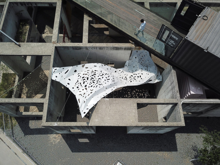Instalação The Wind Shape / Yong Ju Lee Architecture, © Yong Ju Lee Architecture