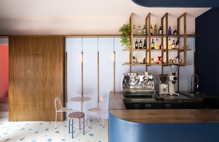 Duca caffe & apericena / OHIO Estudio + Estudio RIPANI, © Javier Agustín Rojas