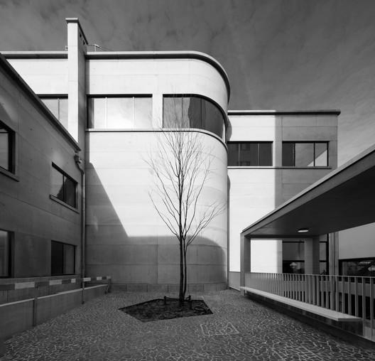 Boekentoren, new entrance. Image © Walter Vorjohann