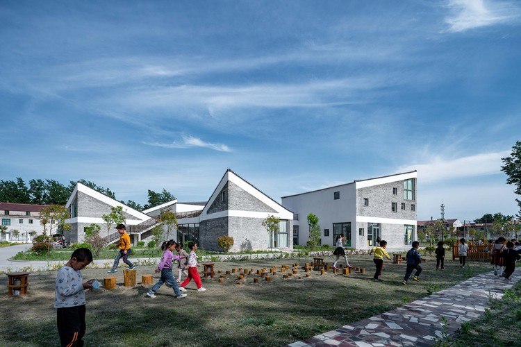 Jardim de infância de Jiangsu Beisha / Crossboundaries, © Qingshan Wu